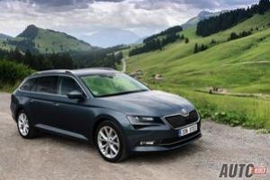 Nowa Škoda Superb Combi 2,0 TDI DSG 4x4 (2015) - test, opinia, spalanie, cena