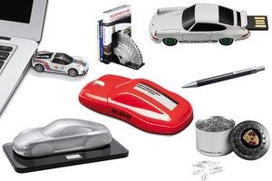 Motoryzacja w biurze - część 1.: akcesoria Porsche