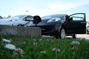 Tylko cisza i spokój, czyli test elektrycznego auta Nissan Leaf
