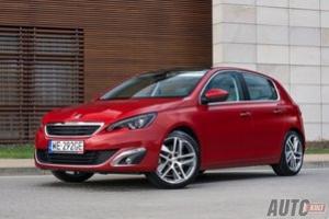 Peugeot 308 1,6 THP Allure - test [galeria]