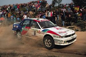 Mitsubishi Galant VR-4 Rally Car – protoplasta legendarnego Lancera [historia motorsportu]