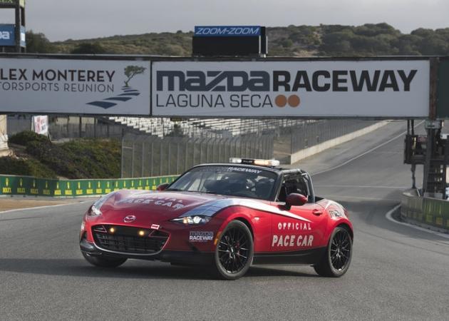 Torowa Mazda MX-5 Cup oficjalnie zaprezentowana jako samochód bezpieczeństwa