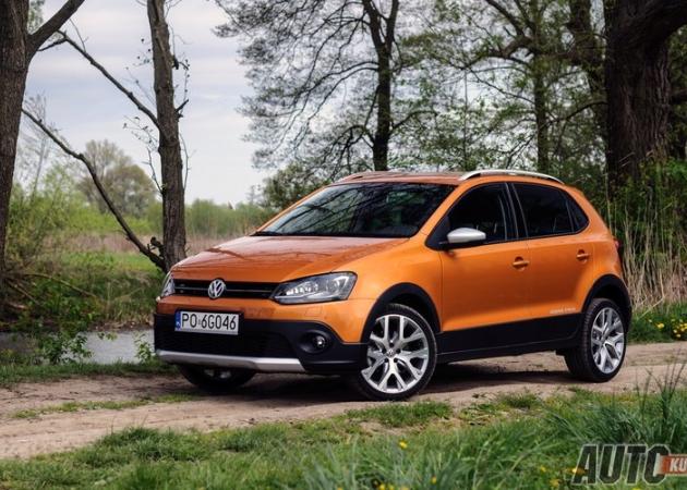 Volkswagen Cross Polo 1,2 TSI - galeria testowa