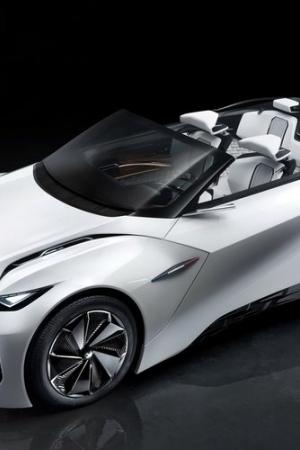 Peugeot Fractal (2015) - nowy koncepcyjny kabriolet z Francji