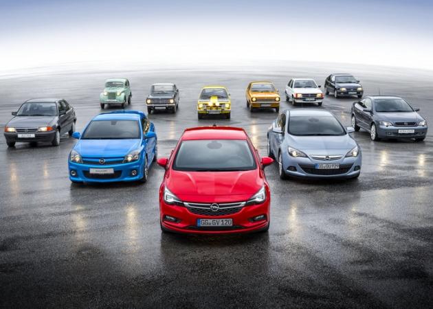 Nowy Opel Astra na świeżym zestawie zdjęć