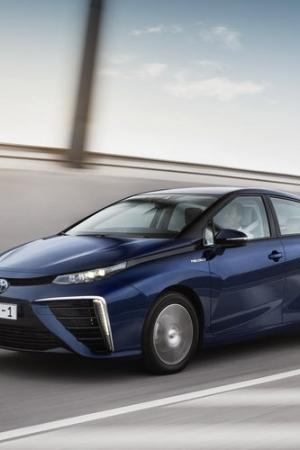 Ekologiczna Toyota Mirai na nowych zdjęciach