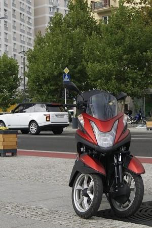 #Testuję: Yamaha Tricity, raz, dwa, trzyyyy!