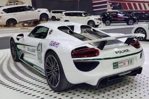 Porsche 918 Spyder zasila szeregi policji w Dubaju