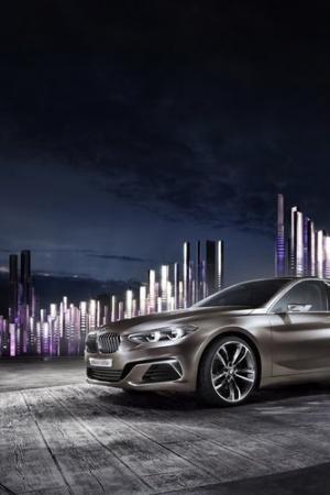 BMW Compact Sedan Concept - nowe nadwozie dla Serii 1