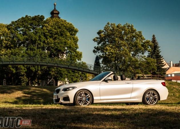 BMW 220i Cabrio - zdjęcia