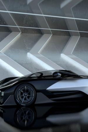 Faraday Future FFZERO1 - elektryczny hipersamochód z tysiącem koni mechanicznych