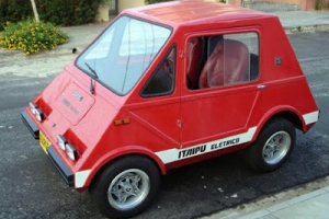 Motohistoria: Gurgel Itaipu E150 i E400