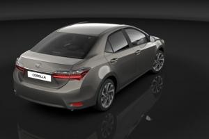 Odświeżona wersja modelu Toyota Corolla