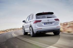 Nowy Volkswagen Tiguan dostał pięć gwiazdek w teście Euro NCAP