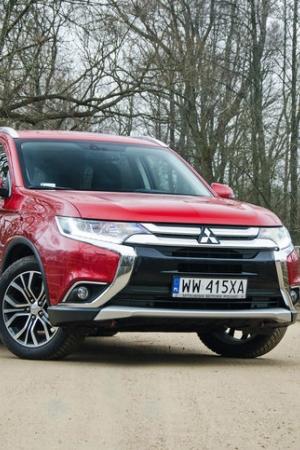 Test nowego Mitsubishi Outlandera 2.0 4WD CVT po 100 zmianach