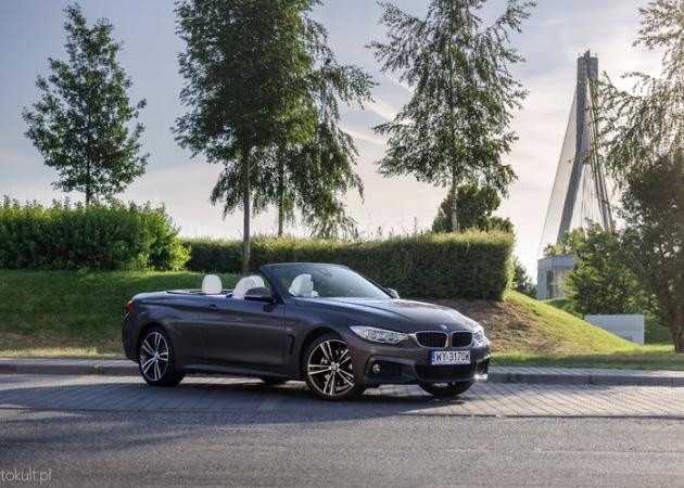 BMW 430i xDrive Cabrio - test, opinia, cena, spalanie