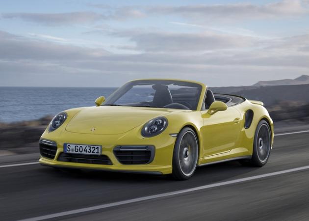 Niemiecki pomysł na superkabriolet: Porsche 911 Turbo i Turbo S Cabriolet