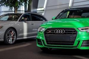 Audi exclusive: Audi S3 - Grün (2D8)