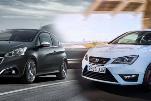 Puchar hot hatchów: Peugeot 208 GTi vs Seat Ibiza Cupra [runda 4]