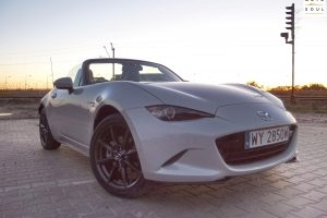 Mazda MX5 ND test