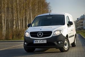 Mercedes Citan 109 CDI 90 KM Furgon [TEST]
