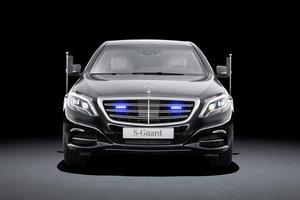 Mercedes-Benz S600 Guard dla pracowników ochrony