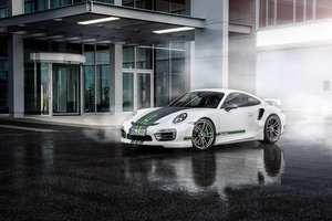 Zastrzyk mocy dla Porsche 911 Turbo od TechArt