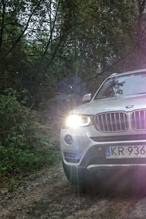 BMW X3 – GÓRSKI TEST