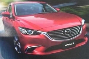 Mazda 6 Facelift [wyciek]