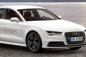 Audi A7 h-tron oficjalnie