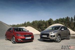 Kombi vs crossover: Peugeot 308 SW 2,0 BlueHDi Allure kontra 3008 1,6 HDi Style - test [galeria zdjęć]