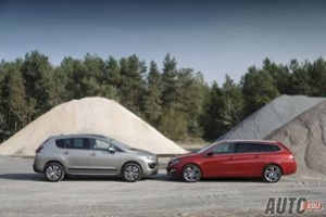 Kombi vs crossover: Peugeot 308 SW 2,0 BlueHDi Allure kontra 3008 1,6 HDi Style - test