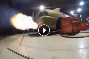 Tak przyspiesza ponad 2000-konny Lancer EVO [wideo]