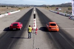 Najszybsze na świecie Audi TT vs Lamborghini Huracan [wideo]