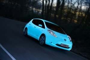 Nissan stworzył lakier świecący w ciemności