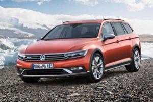 Nowy Volkswagen Passat do jazdy po wertepach