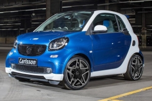 Nowy Smart ForTwo od Carlsson [tuning]