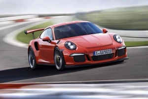 Porsche 911 GT3 RS – 500 KM, 0-96 km/h w 3,3 s, automat [Genewa 2015]