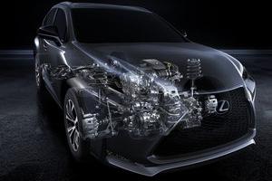 Nowy silnik benzynowy Lexusa z turbodoładowaniem