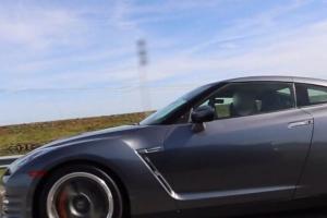 Mitsubishi Evo 8 vs Nissan GT-R [wideo]