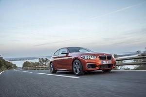 BMW M135i po liftingu w nowej galerii zdjęć