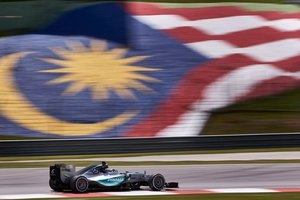 Potężna ulewa podczas kwalifikacji w Malezji