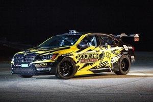 900-konny Volkswagen Passat do driftu [wideo]