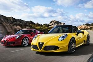 Alfa Romeo z silnikami Ferrari