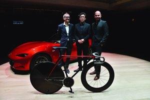 Mazda pokazała sofę i rower Kodo