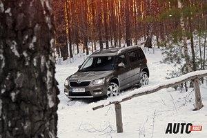 Nowa Škoda Yeti 1,6 TDI DSG 4x2 Ambition - test