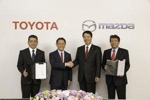 Toyota i Mazda zawarły porozumienie o współpracy